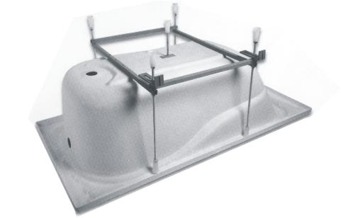 Установка ванны тритон своими руками фото